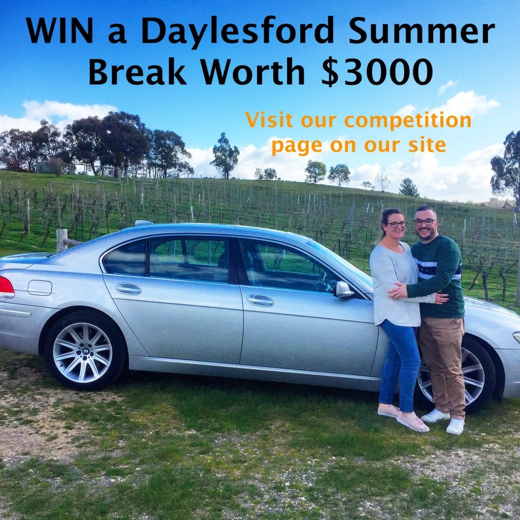 Daylesford Wine Tours Summer Break Competition